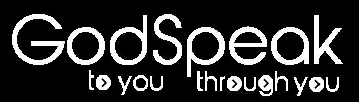 GodSpeak Logo (transparent white)